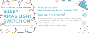 Sileby Parish Council Christmas Switch On