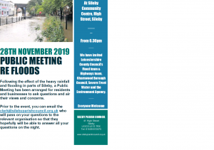 *IMPORTANT NOTICE* FLOOD MEETING - 28TH NOVEMBER 2019