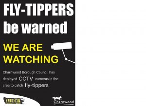 FLY TIPPING - CCTV